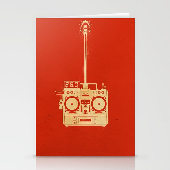 88mph Stationery Card