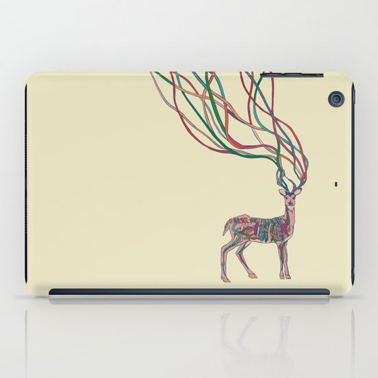 Deer Ribbons iPad Case