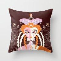 Elizabeth I of England Throw Pillow