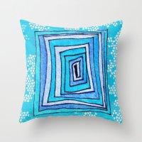 Vertigo Mosaic Throw Pillow