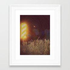 Don't Lose Your Dinosaur Framed Art Print