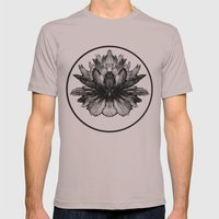 Bloom Mens Fitted Tee Cinder SMALL