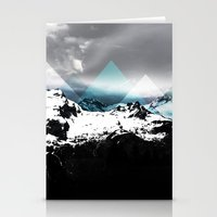 Mountains IV Stationery Cards
