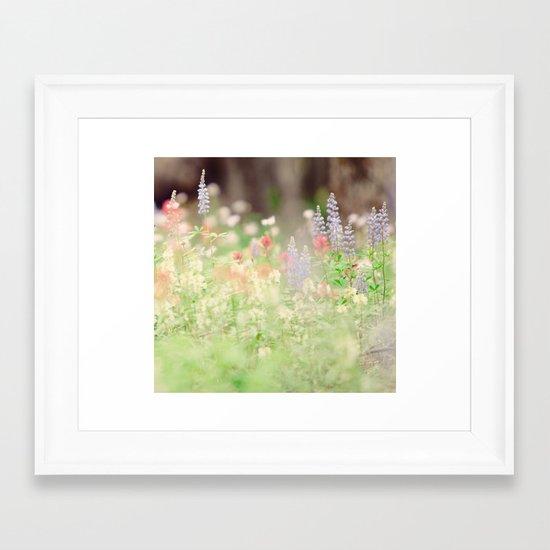 SUMMER HIKE  Framed Art Print