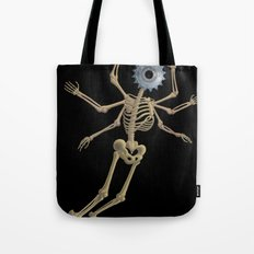 GEAR HEAD SKELETON Tote Bag