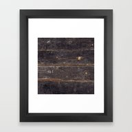Framed Art Print featuring Vintage Black Wood by Patterns And Texture…