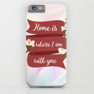 Home Is - In Red iPhone 6 Slim Case