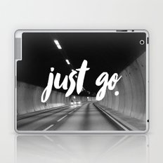 Just Go Laptop & iPad Skin