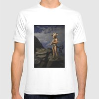 Capricorn Mens Fitted Tee White SMALL