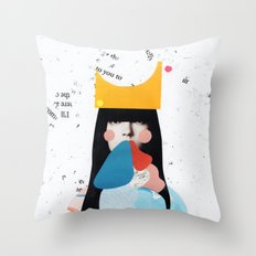 sabine Throw Pillow