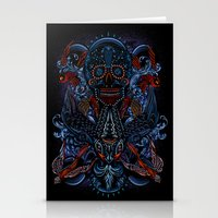 Death in Culture Stationery Cards