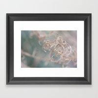 Curlicue Framed Art Print