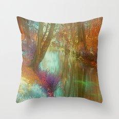 Mystical Landscape Throw Pillow