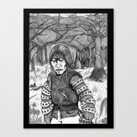 Aguirre, der Zorn Gottes Canvas Print