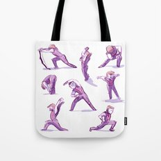 When I Get Nervous I Do a Deep Lunge Tote Bag