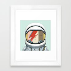 Astronaut Ice Cream - Ma… Framed Art Print