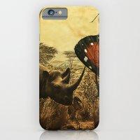 Diorama :: Rhinos iPhone 6 Slim Case