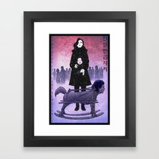 Sympathy for Lady Vengeance [full color] Framed Art Print