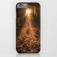 iPhone & iPod Case featuring Autumn Fantasy : Let the Light Guide You by Gilderic