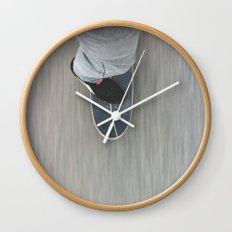 Skateboarding Wall Clock