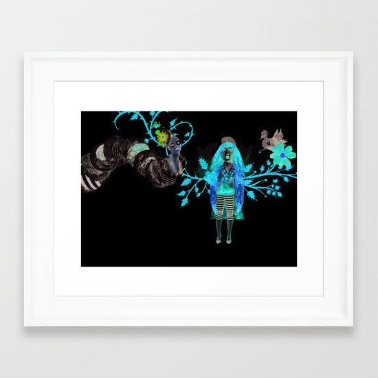 Alice Wonders Framed Art Print