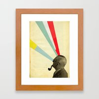 Mind-altering Framed Art Print