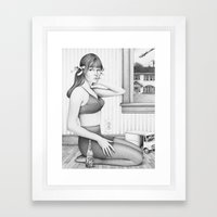 You Like It....it Likes … Framed Art Print