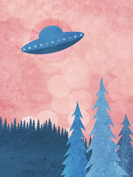 Unidentified Flying Object Art Print