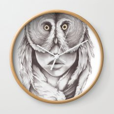 Owlhead Wall Clock