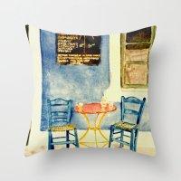 Greek Memories No. 2 Throw Pillow