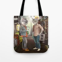 A Cats Night Out Tote Bag