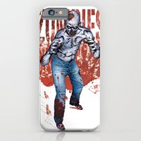 iPhone & iPod Case featuring Zombie Walk by Art Edel