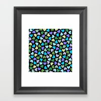 Hearts #3 Framed Art Print