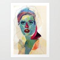Girl 01 Art Print