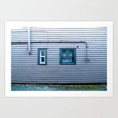 window, wall (one) Art Print