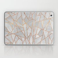 Shattered Concrete Laptop & iPad Skin