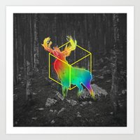 Catch The Reinbow Art Print