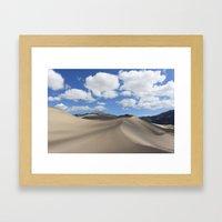Great Sand Dunes Framed Art Print