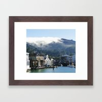 A Day In The Bay Framed Art Print