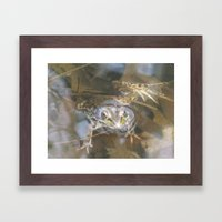 Come On In, The Water's Fine Framed Art Print
