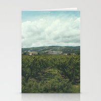 Vineyards, South Of Fran… Stationery Cards