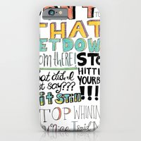 iPhone & iPod Case featuring Don't Touch That by Elizabeth Caldwell