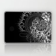 Cosmic Chrysanthemum Laptop & iPad Skin