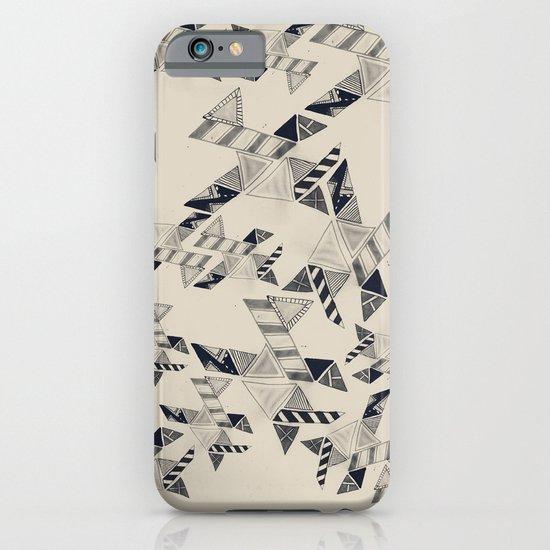 B&W Aztec pattern illustration iPhone & iPod Case