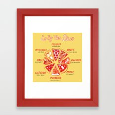 LA By The Slice Framed Art Print