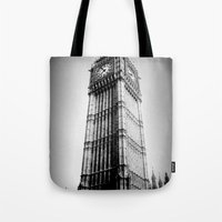 Ben Looms In Black And W… Tote Bag