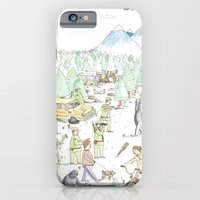 iPhone & iPod Case featuring The Woods by Nate Twombly