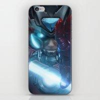 Zero suit Iron Man  iPhone & iPod Skin