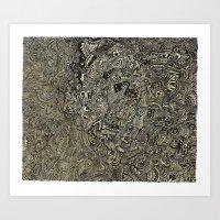Geothermal Art Print