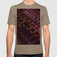 Lloyd's of London Building  Mens Fitted Tee Tri-Coffee SMALL